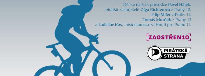Pirátská cyklojízda po pražských miliardách