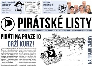 Letní Pirátské listy pro Prahu 10