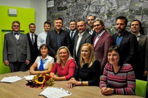 VLASTA, Piráti a ODS podepsali koaliční smlouvu pro Prahu 10