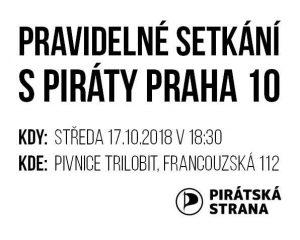 Pozvánka na setkání s Piráty