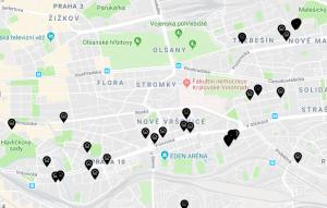 Mapa nebytových prostor spuštěna