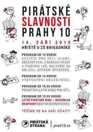 Zveme na pirátské slavnosti na Solidaritě 14.9.2019 od 13 hod.