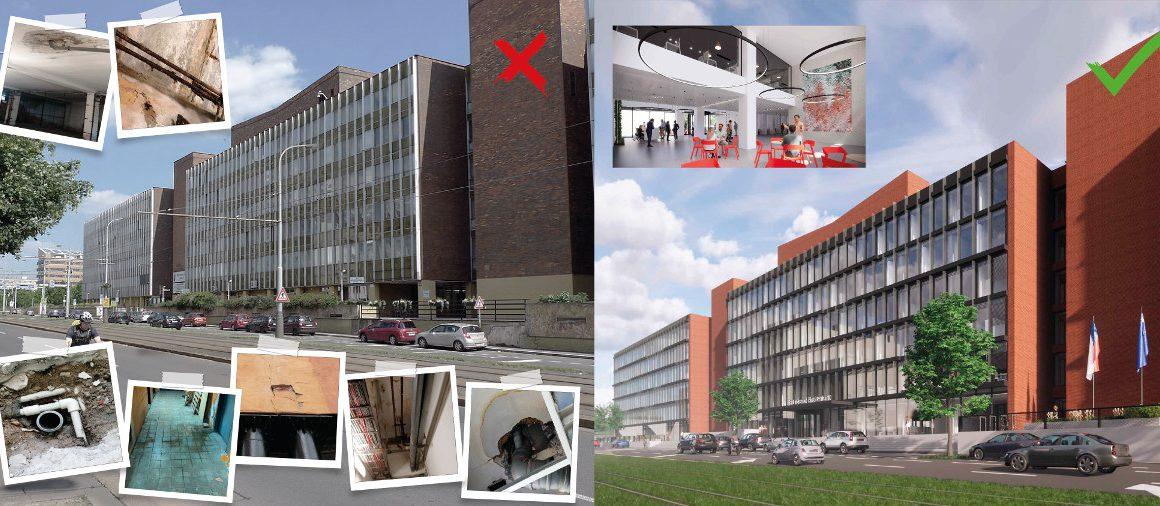 Radnice Prahy 10 – současnost a plán